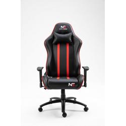 ebuy24 Gaming-Stuhl Nordic Gaming Carbon Gamin Stuhl schwarz, rot.