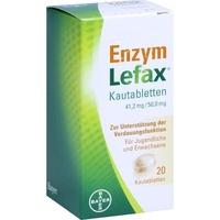 BAYER Enzym Lefax Kautabletten