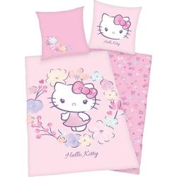 Kinderbettwäsche Hello Kitty, Hello Kitty, mit niedlichem Hello Kitty Motiv