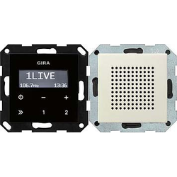 Gira Unterputz-Radio RDS System 55 cws 228001
