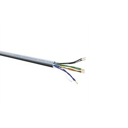 Roline UTP-300M CAT6a Netzwerk Verlegekabel, grau, Draht