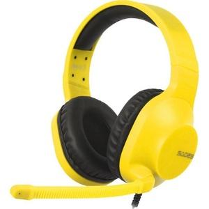 Sades Spirits SA-721 Gaming-Headset (Kompatibel mit PS4, PS5, Xbox One, Xbox Series X/S und Nintendo Switch) gelb