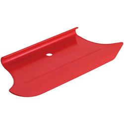 SCHÖNER WOHNEN FARBE Spezialwerkzeug Beton-Optik Glätter, Effektwerkzeug rot