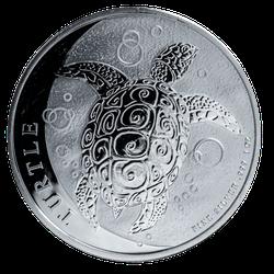 1 Unze Silber Niue Meeresschildkröte 2020