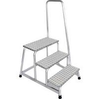 Günzburger Aluminium-Arbeitspodest 3 Stufen (50043)