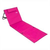 DEUBA Strandmatte Gepolstert Kopfkissen Faltbar Verstellbare Rückenlehne Staufach Badematte Isomatte