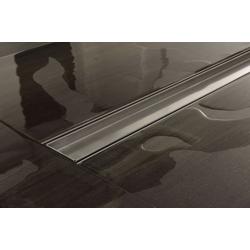 CLP Duschrinne Douglas 500mm, mit Siphon und Edelstahlabdeckung