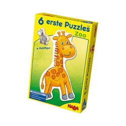Haba Puzzle HABA 4276 6 erste Puzzles - Zoo, Puzzleteile