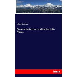Die Assimilation des Lecithins durch die Pflanze als Buch von Julius Stoklasa