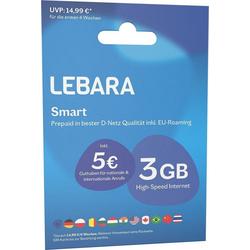Lebara Prepaid Karte Prepaid Smart blau