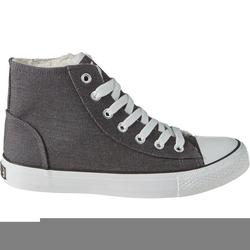 Schuh gefüttert, grau, Gr. 42 - 42 - grau