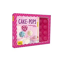 Cake-Pop-Set, Buch mit Backform und 20 CakePop-Stielen