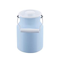 Riess Wasserkrug Riess Milchkanne mit Deckel 1.5 Liter Emaille