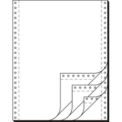 EDV-Papier 12x240mm selbstdurchschreibend VE=4x500 Blatt