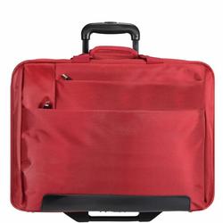 Dermata 2-Rollen Trolley Business I 44,5 cm Laptopfach rot