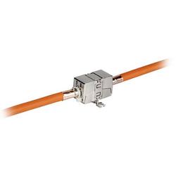 EFB Elektronik INFRALAN® Kabelverbinder Cat.6A / Class EA 10Gbit/s Adapter 37597.1 Metall 37597.1 1