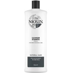 Wella Nioxin System 2 Cleanser Shampoo Step 1 1000 ml - Neu