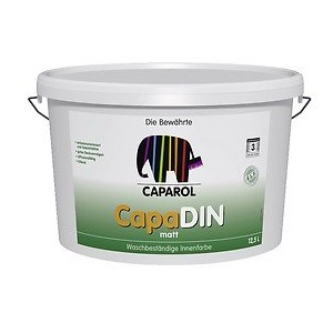 Caparol CapaDIN Innenwandfarbe 5 Liter weiß
