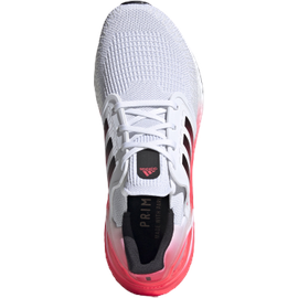 adidas Ultraboost 20 M cloud white/core black/signal pink/coral 48