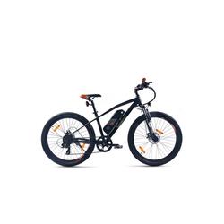 SachsenRAD E-Bike Sachsenrad R6 E-Racing Mountain Bike 27,5 Zoll, 7 Gang, Shimano Tourney TX 7-Gang-Schaltung, Jiabo Motor