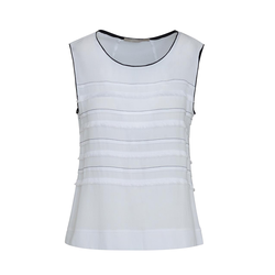 Lavard Elegante weiße Bluse 84687  38