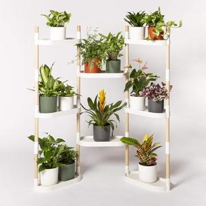 Citysens – Blumenregal mit 8 Regalböden, Weiß