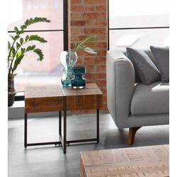 Home affaire Beistelltisch Marilyn, Tischplatte 60/60 cm, im Industrial-Look