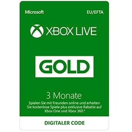 Microsoft Xbox Live Gold (3 Monate) (EU Import)