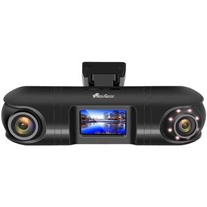 NavGear Autocam: QHD-Dual-Dashcam mit 2 Kameras, G-Sensor, IR-Nachtsicht und GPS (Dashcamera)
