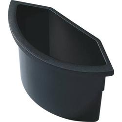Abfalleinsatz für Papierkörbe 2l schwarz