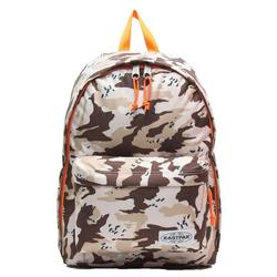 Eastpak Rucksack EASTPAK OUT OF OFFICE Rucksack stylischer 27 Liter Rucksack mit Laptop-Fach Schul-Tasche Camouflage Muster Beige