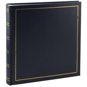 IDEAL TREND Album Tradition Fotoalbum in 30x30 cm 100 Seiten Jumbo Fotoalbum Buchalbum blau