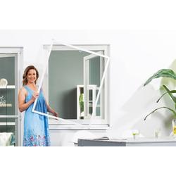 empasa Insektenschutz-Fenster MASTER SLIM, Selbstbausatz in Matt 80 cm x 100 cm