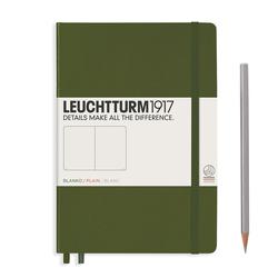 Leuchtturm1917 Notizbuch A5 blanko Army
