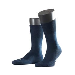 FALKE Socken Run aus wärmender Baumwolle blau 44-45