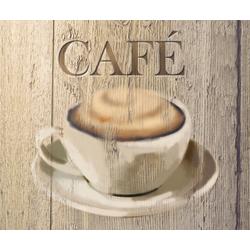 WENKO Spritzschutz Café braun Küchenrückwände Küche Ordnung Spritzschutzwände