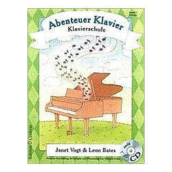 Abenteuer Klavier  Band 3. Janet Vogt  Leon Bates  - Buch