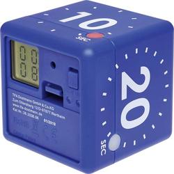 TFA Dostmann CUBE Timer Blau digital