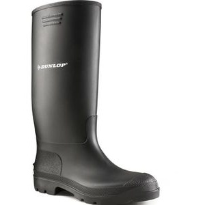 Dunlop Gummistiefel Pricemastor Unisex 380PP, Halbschaft, PVC, schwarz, Größe 42