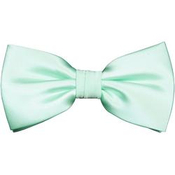 Paul Malone Fliege Herren Schleife modern elegant uni satin einfarbig Fliege-488 (mit Karton), mintgrün grün