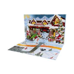 Mattel® Spiel, Hot-Wheels-Adventskalender mit Überraschungen für
