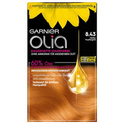 Garnier Nr. 8.43 - Helles Kupfergold Haarfarbe