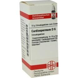 CARDIOSPERMUM D 6 Globuli 10 g
