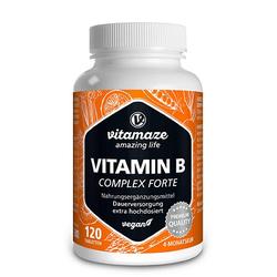 VITAMIN B COMPLEX extra hochdosiert vegan Tabl. 120 St