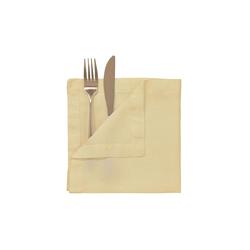 BUTLERS Stoffserviette RIGA Serviette 42x42 cm gelb