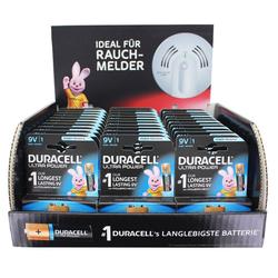 Duracell 33 Stück Ultra Power Alkaline 9V Batterien ideal f Batterie