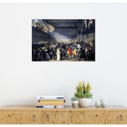 Posterlounge Wandbild, Ballhausschwur 100 cm x 70 cm