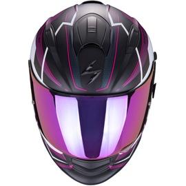 Scorpion Exo-510 Air Balt Matt-Black/Weiß/Pink