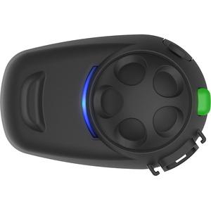 Sena SMH5 Multicom Bluetooth-Kommunikationssystem für Motorräder und Roller mit Schnellmontage-Helmklemmeinheit