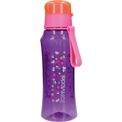 Depesche Trinkflasche TOPModel Trinkflasche, lila